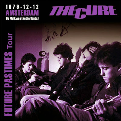 The Cure, bootleg album cover, live in Amsterdam 1979