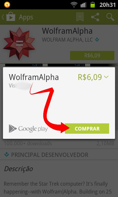 Comprar aplicativo