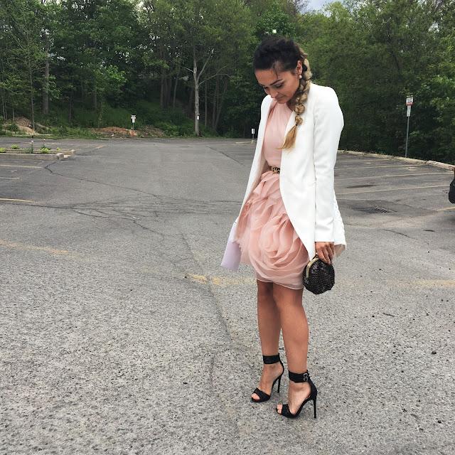 bridesmaid dress, white blazer, australian designers, australian fashion, what to wear to a wedding, how to style a white blazer, kako nositi beli blejzer, haljine za maturu, promo dress inspiration, prom style, wedding style, toronto blogger, canadian fashion blogger, best style blogger
