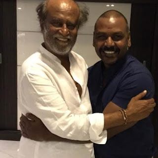 Actor Raghava Lawrence Meets Rajinikanth