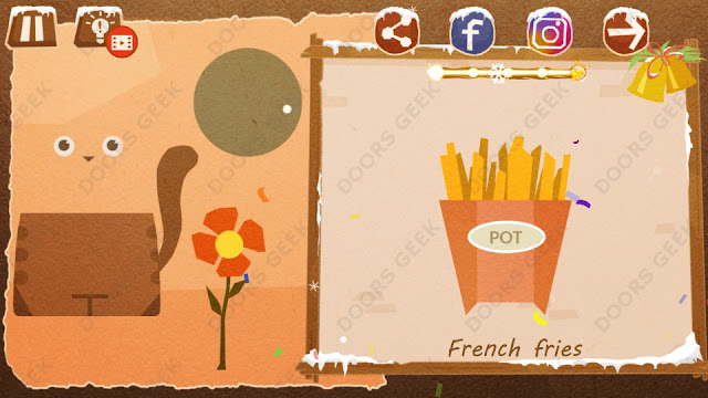 Chigiri: Paper Puzzle Apprentice Level 8 (French Fries) Solution, Walkthrough, Cheats
