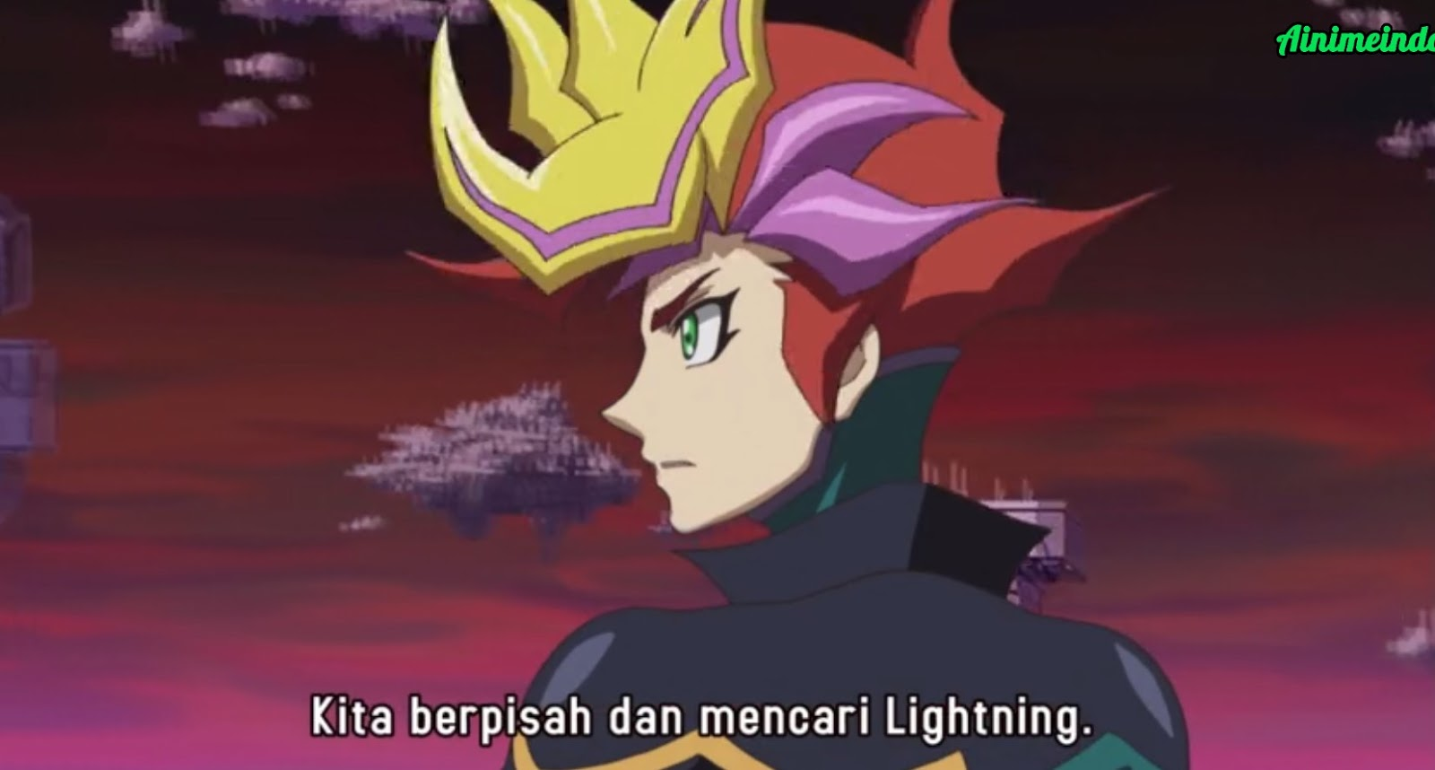 yu-gi-oh! vrains episode 86 subtitle indonesia - black avelic