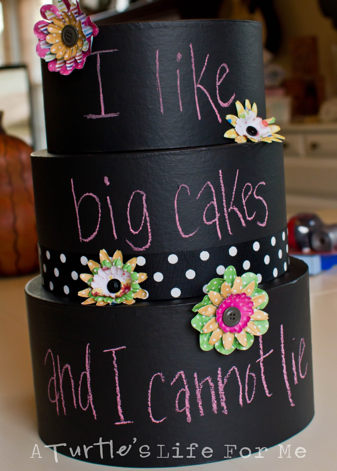 Chalkboard Cake A Turtle S Life For Me