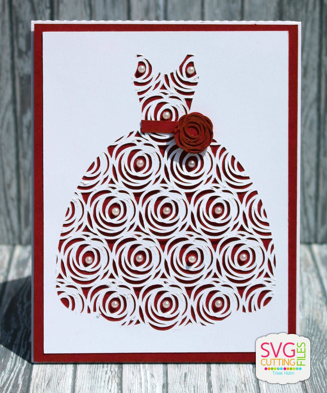 Download SVG Cutting Files: Wedding Card Kits