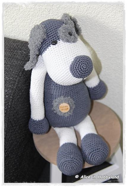 Alice In Hobbyland Hond Boris Stip En Haak
