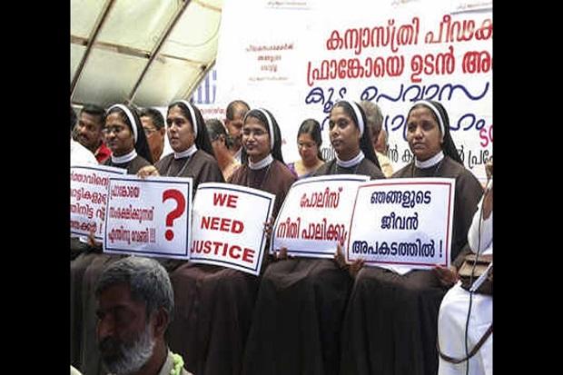 Rekannya Diperkosa Uskup Gereja, Para Biarawati India Turun ke Jalan
