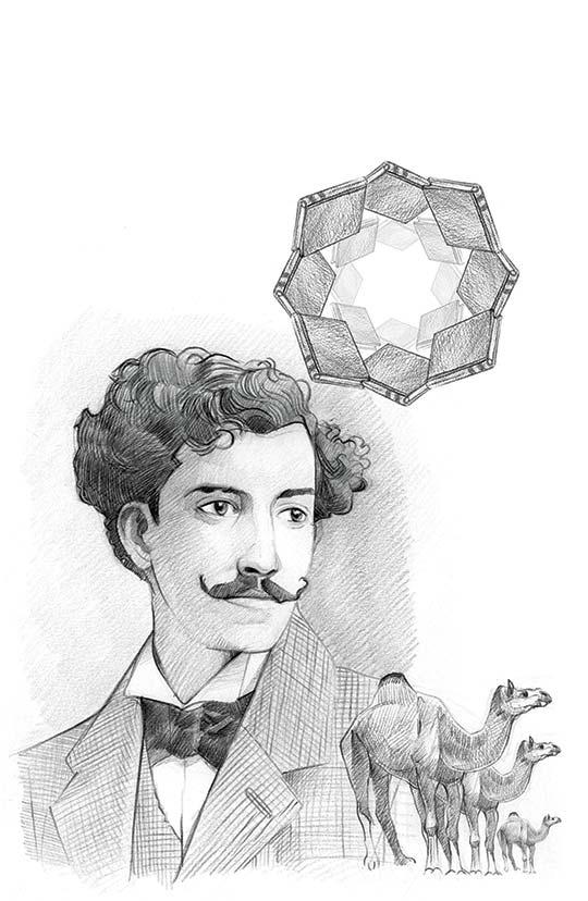 Retrato de Guillermo Valencia por Marco Pinto