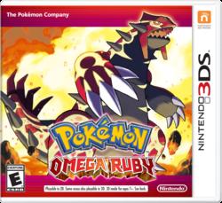 Pokemon Rubi Omega 3DS,español, mega