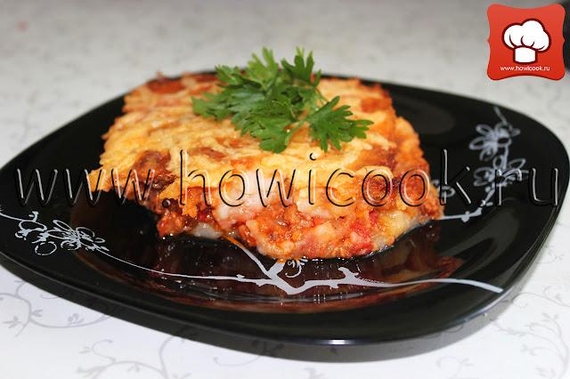 рецепт вкусной запеканки с мясом и картофелем