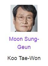 Moon Sung-Geun pemeran Koo Tae-Won