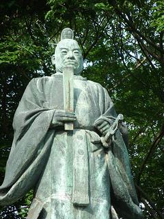 Statue of Ii Naosuke in Hikone.