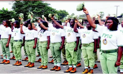 NYSC Members during Orientation course/