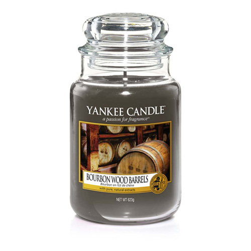 Pineapple Candles: Yankee Candle.Bourbon Wood Barrels