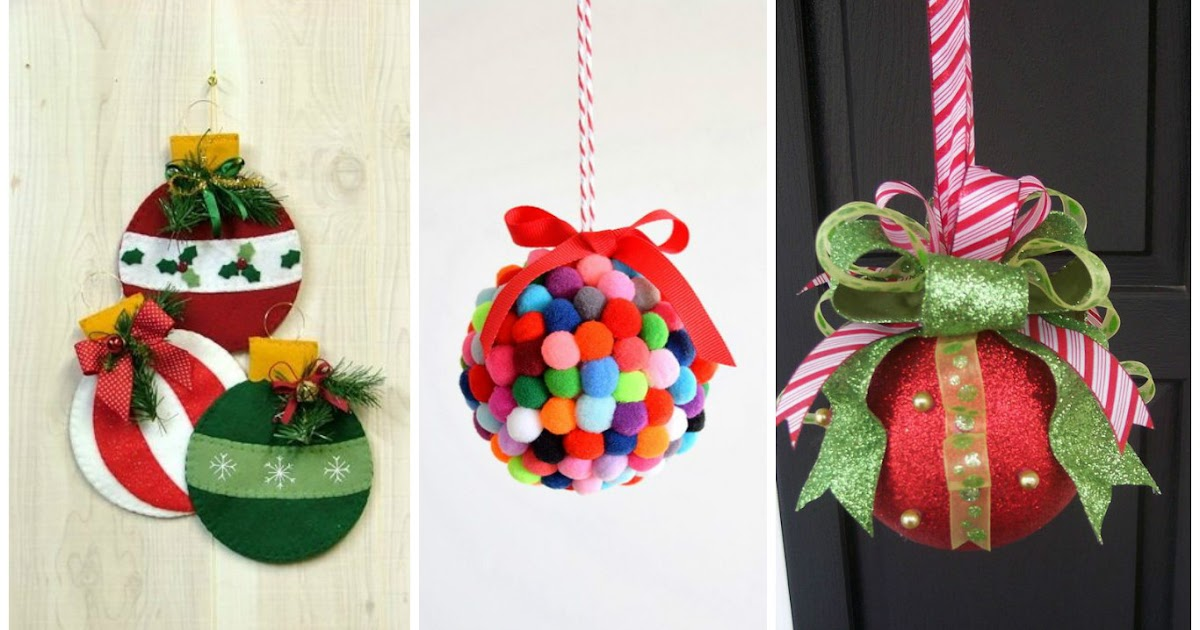 10 ideas para aprender c mo hacer y decorar esferas for Figuras navidenas para decorar