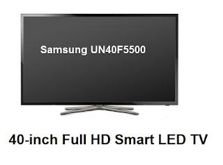 Samsung UN40F5500 TV review