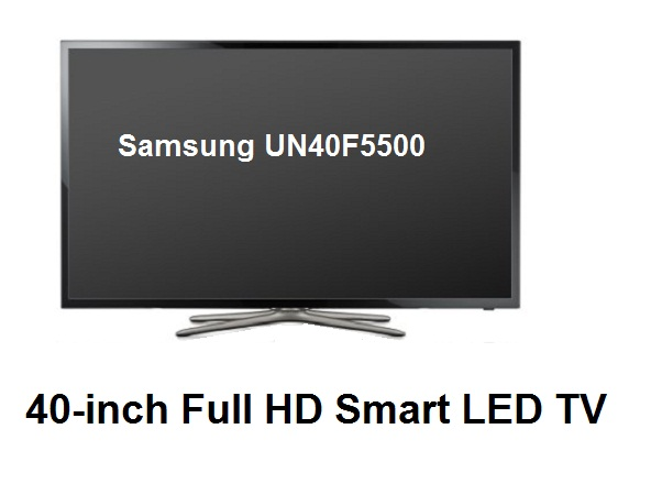 Samsung UN40F5500 40-inch Full HD Smart LED TV