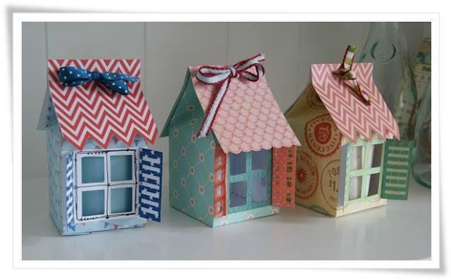 Comel Kalau Dapat Hasilkan Miniature Rumah Hasil Dari Bahan Terbuang