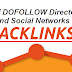 List Of Dofollow Directories And Social Networks For Backlinks