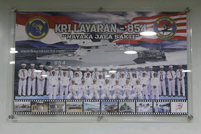 Crew KRI Layaran 854