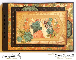 Steampunk Debutante Scrap Book Clare Charvill Graphic 45