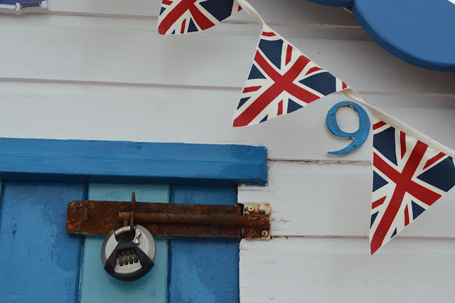 British Sea side bunting