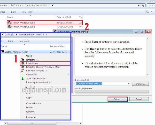 Cara Update e-Faktur Versi 2.2