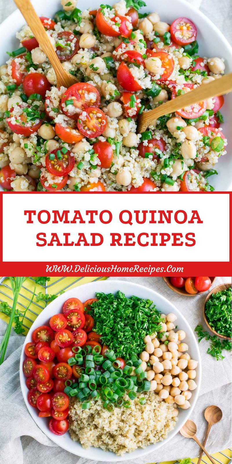 Tomato Quinoa Salad Recipes