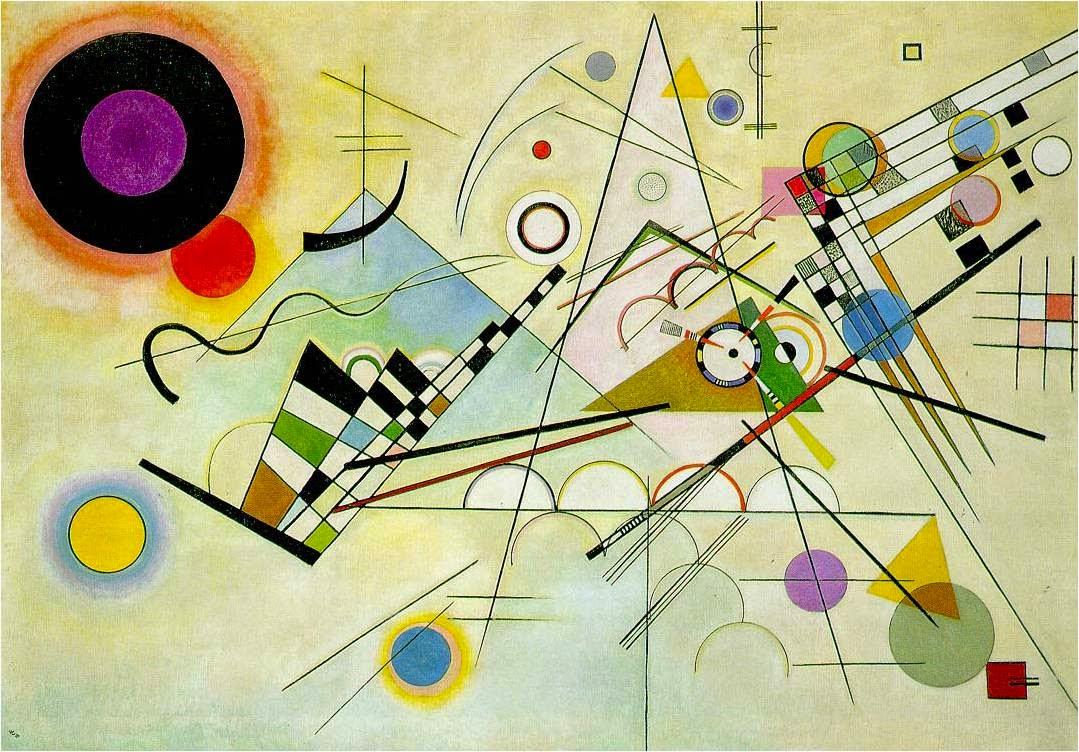 Composição Vlll - Kandinsky e suas pinturas | O pioneiro da arte abstrata
