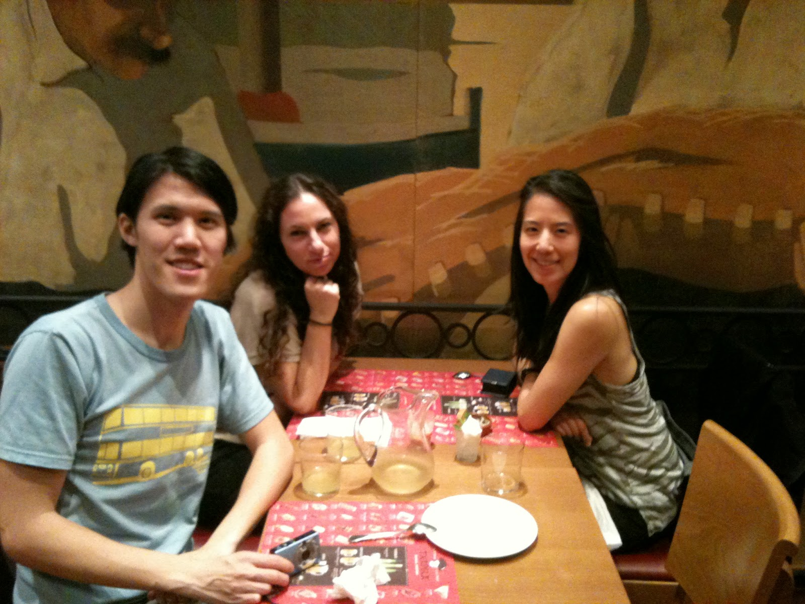 Barcelona - Dinner with Alvin and Livi