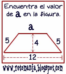 Cuadrados mágicos, Descubre el número, El número que falta, Retos para pensar, Problemas matemáticos, Retos matemáticos, Desafíos matemáticos, Retos de lógica, Problemas para pensar, Triángulos, Teorema de Pitágoras