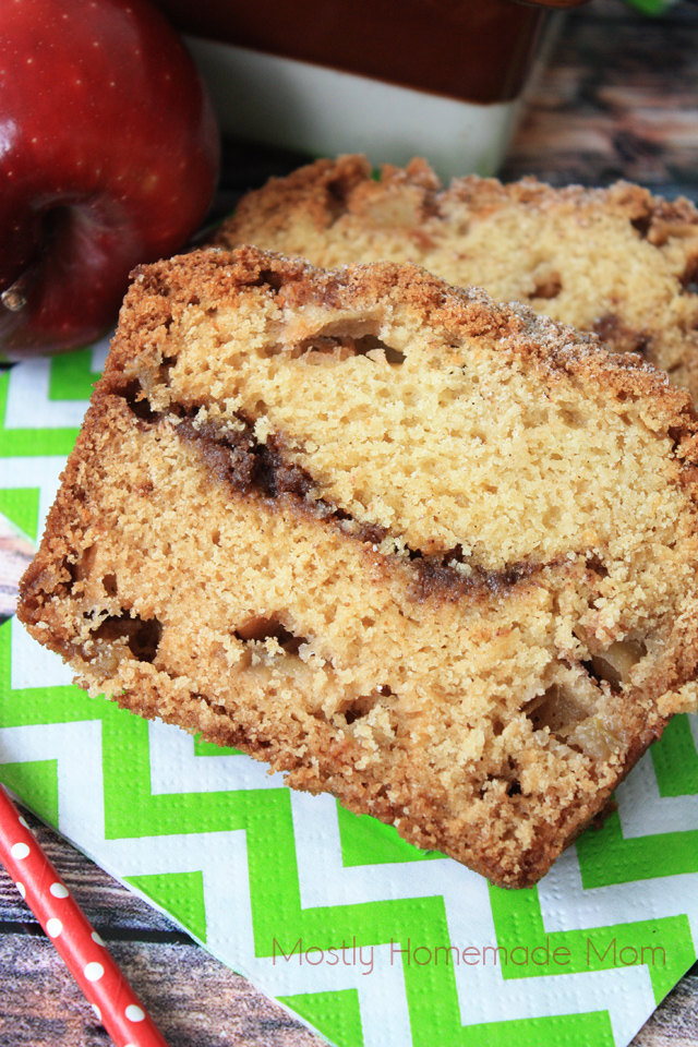 Apple Streusel Apple Cinnamon Bread