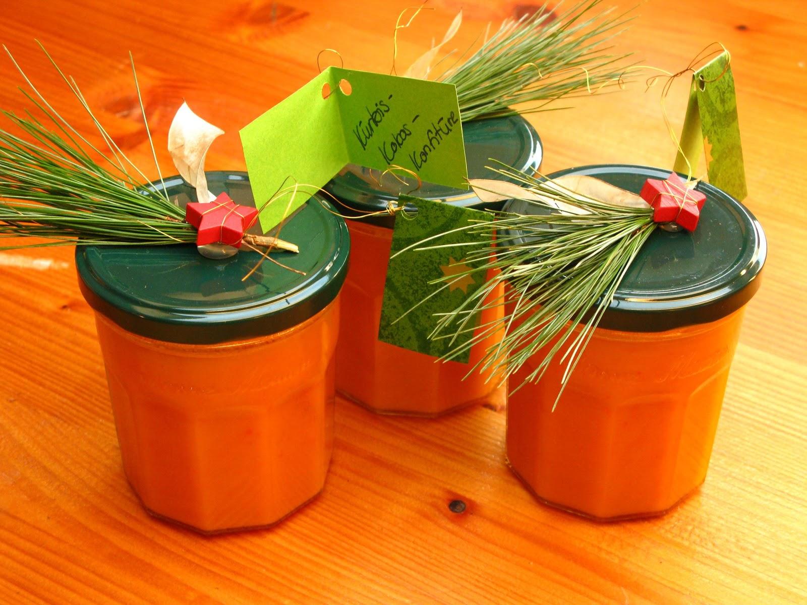 Gourmandises vgtariennes Geschenke aus der Kche