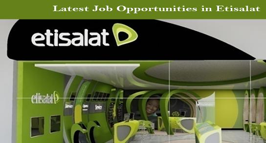 اعلان وظائف شركة etisalat اتصالات 2019 بالمحافظات - تقدم الان