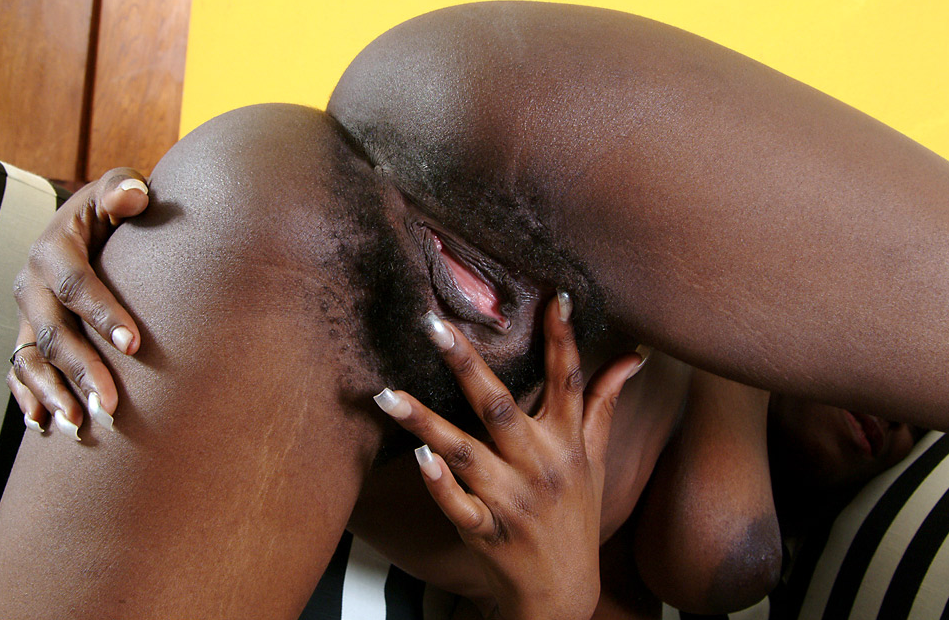 Charity From Kaduna Nigeria Shows Off Her Hairy Black -1978