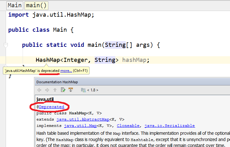 Java Dealing with Deprecation Warnings - Web Development and Design
