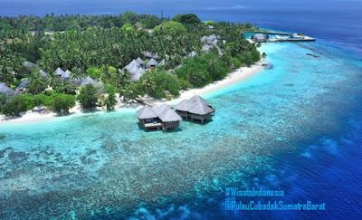 Pulau Cubadak | Tempat Wisata di Sumatra Barat