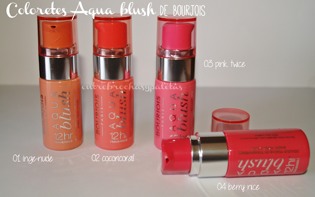 coloretes aqua blush bourjois
