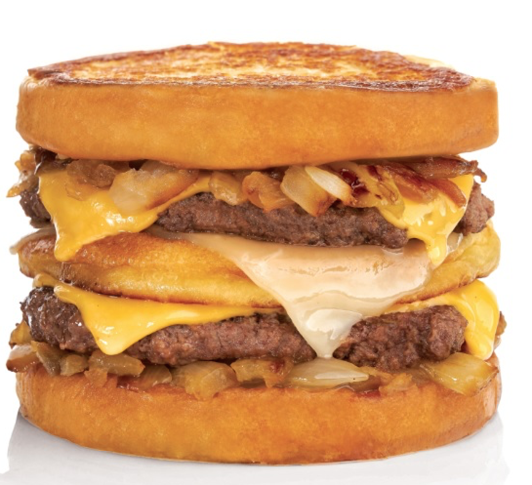 BurgerFi Grilled Cheese Burger Melt by BurgerFi©