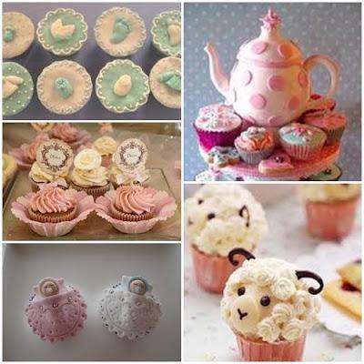 doces para chá de bebê