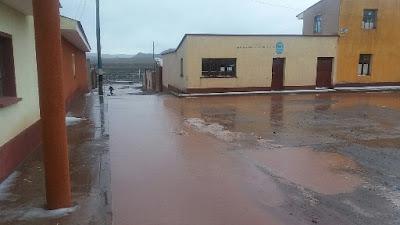 San Pablo de Lipez versinkt langsam aber sicher im Dauerregen