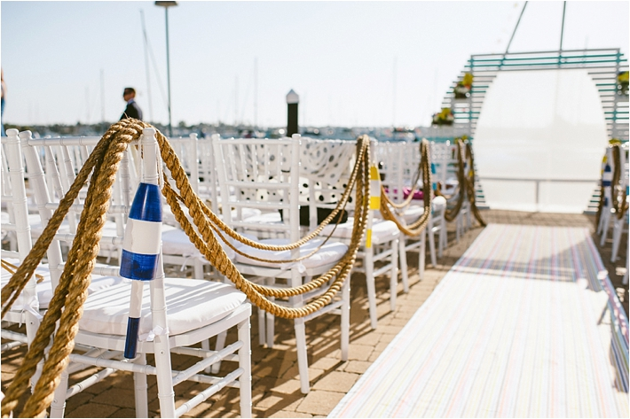 Nautical rope | Bermuda/Nautical-Inspired Wedding | Photo by: Sargeant Creative
