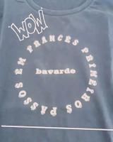 camiseta bavarde que fala francês