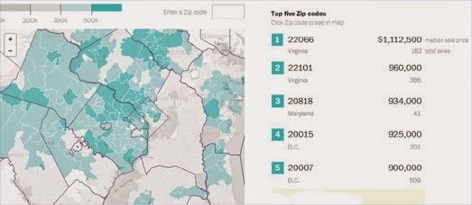 Maps Mania Mapping The 2014 D C Housing Market