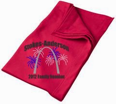 Family reunion blanket