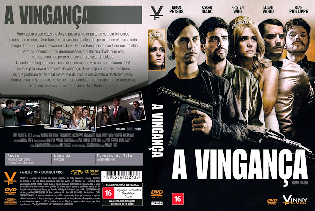Capa DVD A Vingança