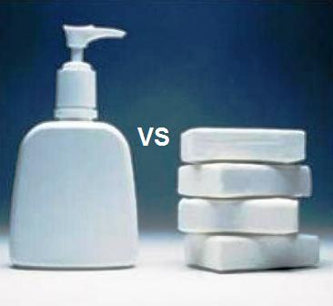 Hemat mana, sabun cair atau sabun batangan