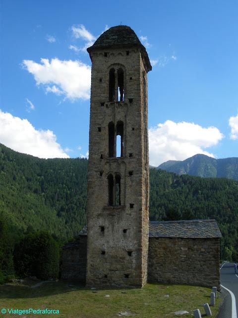 Sant Miquel d'Engolasters, Andorra, Art romànic