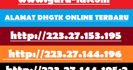 DHGTK ( Daftar Hadir Guru & Tenaga Kependidikan) Absen
