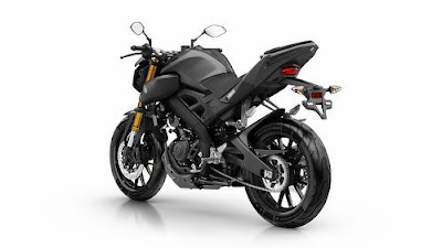 2016 Yamaha MT 125 ABS back look