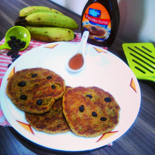Oatmeal Banana Pancakes without Eggs